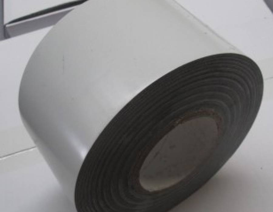 White Heavy Duty SPVC Vinyl Pipe Wrap Tape - 100 Ft